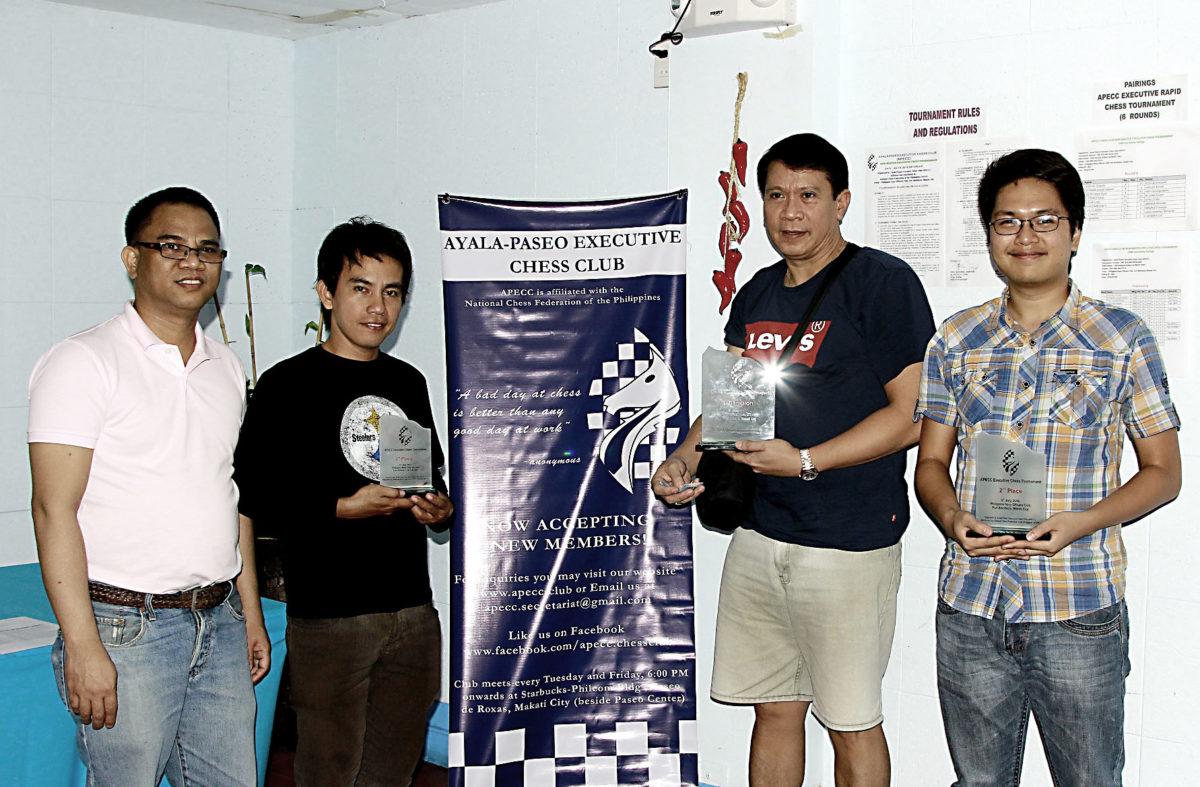 APECC Non-Master Executive Chess Tournament — July 2016