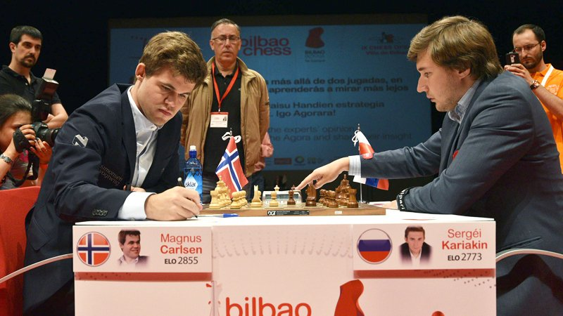 Magnus Carlsen in Sole Lead after Round 3 of Bilbao Masters Final 2016