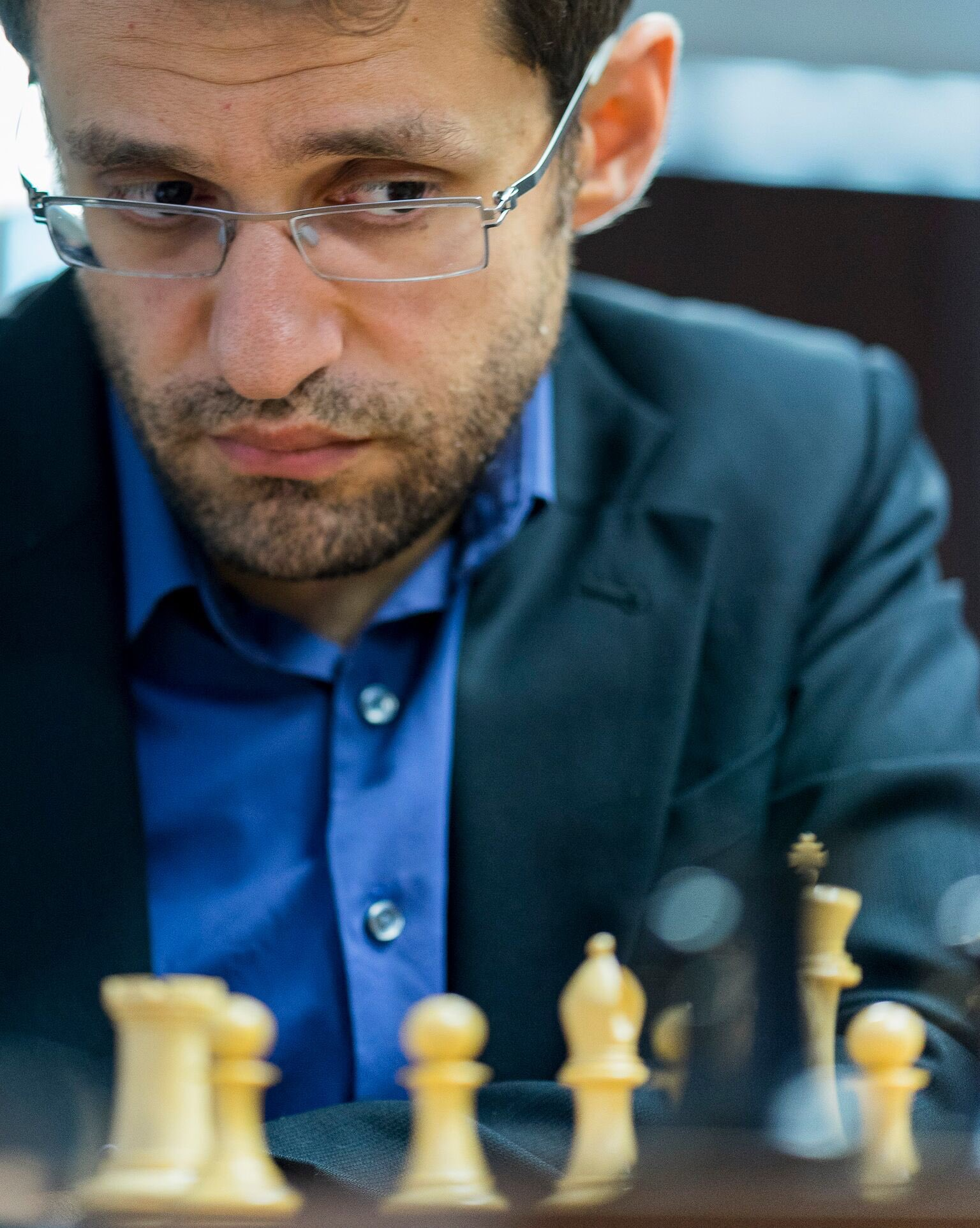 Levon Aronian in Sinquefield Cup 2016