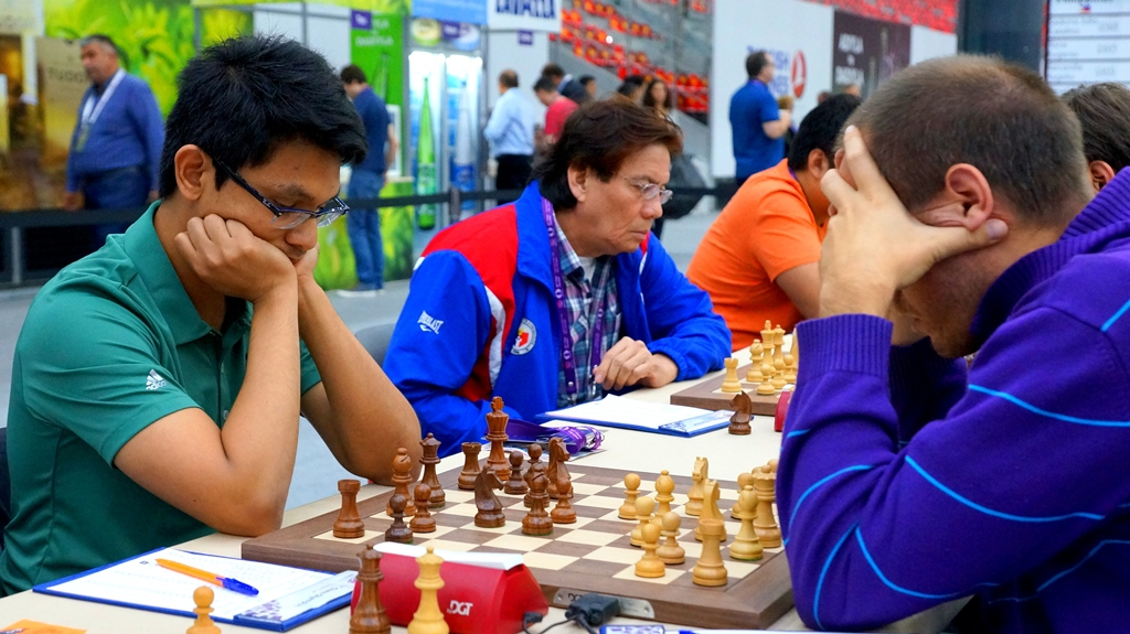 Philippines Sweeps Scotland in Round 10 Baku 2016 Chess Olympiad Open