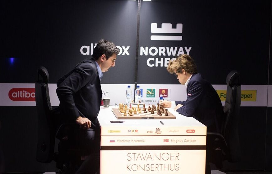 Aronian leads Norway Chess 2017 at the end of Round 7