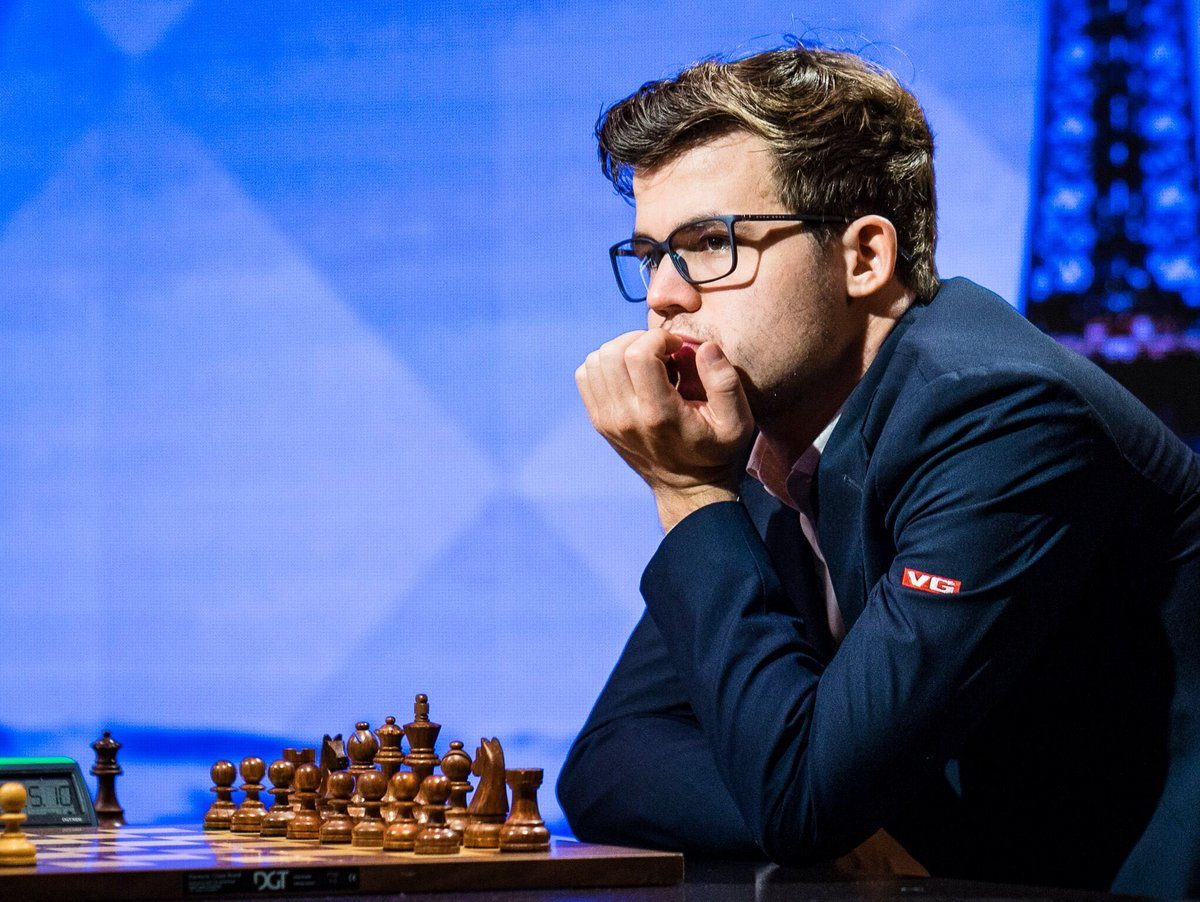 Magnus Carlsen leads on Rapid Day 2 Grand Chess Tour Paris 2017