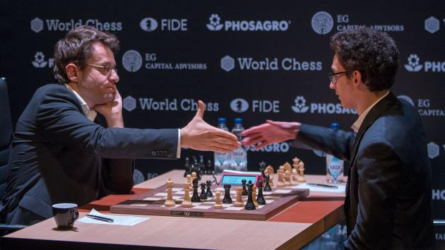 Caruana leads halfway through the Candidates Tournament 2018