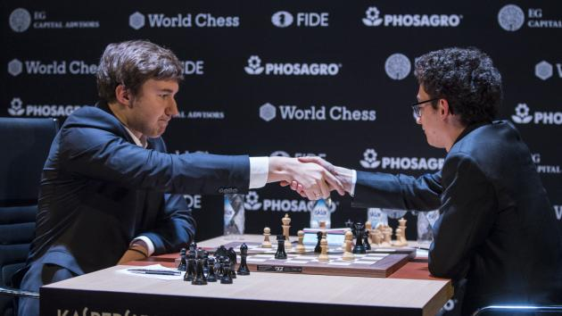 Karjakin beats Caruana in Round 12 to share the lead in Candidates Tournament 2018